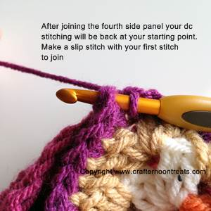 Slip-stitch-to-join-after-four-squares-to-base-done